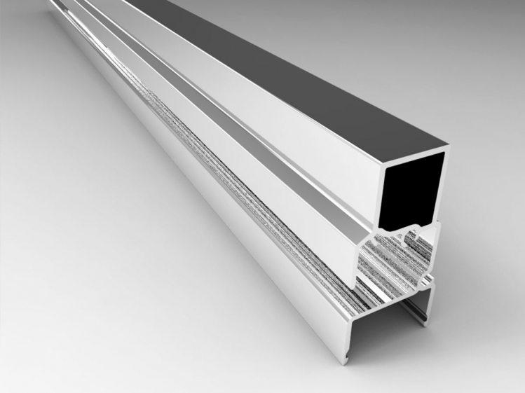 Square Aluminum Section